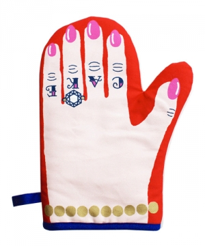 Lazy Oaf | Love & Cake Oven Mitt