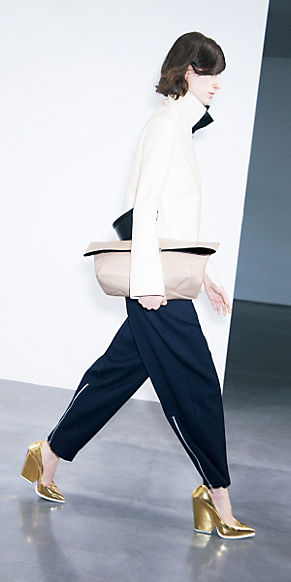 CÉLINE ready to wear collection Winter 2012 look n°3