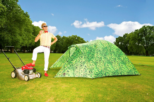 Fancy - 4 Person Solar Powered Tent by Bang Bang Tents