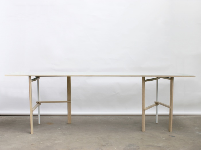 Tomás Alonso Design Studio - M trestle table