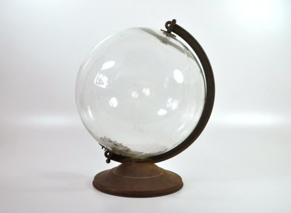 Etsy Transaction - One of a Kind World Globe, 1940's