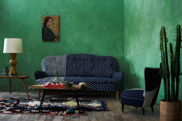 Clash Colours - Home Decorating tips & ideas- Bedroom & Living Room (EasyLiving.co.uk)