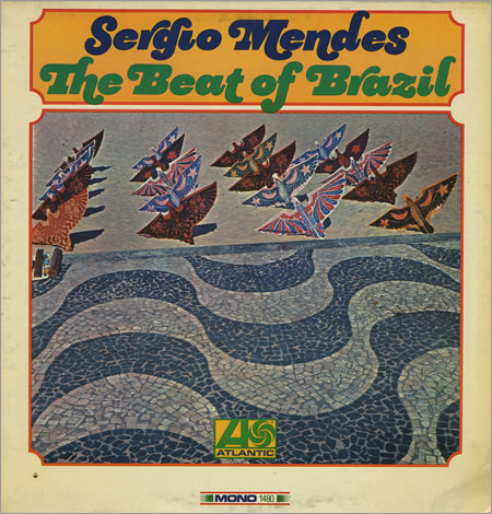 Sergio Mendes The Beat Of Brazil USA vinyl LP album (LP record) (364103)