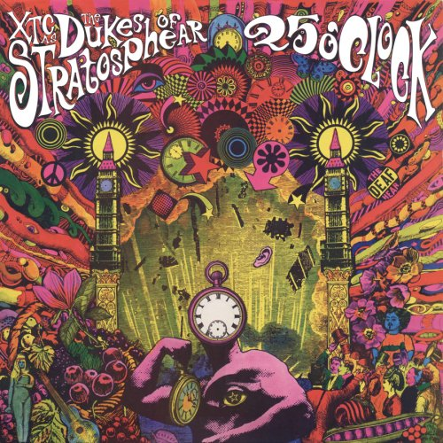 Amazon.co.jp: 25 O'Clock (W/Book): Dukes of Stratosphear: 音楽