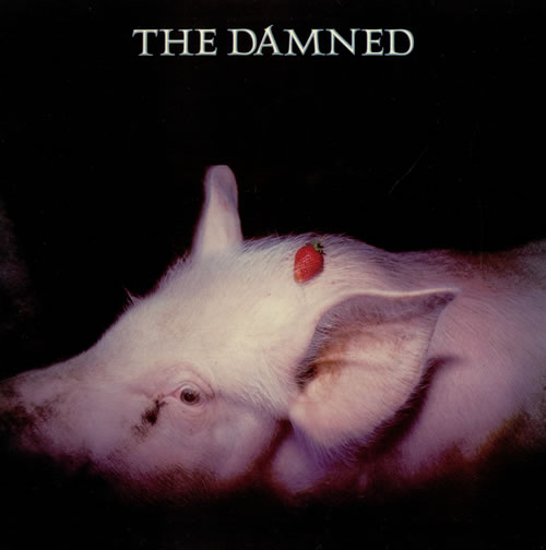 The Damned Strawberries + Scented Lyric Insert UK Vinyl LP Record BRON542 Strawberries + Scented lyric insert The Damned 991 470322