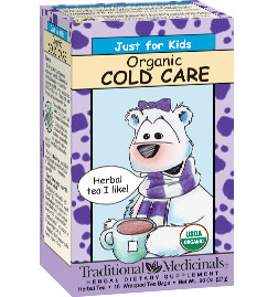 """Traditional Medicinals :: Product :: """"Just For Kids"""" Cold Care"""