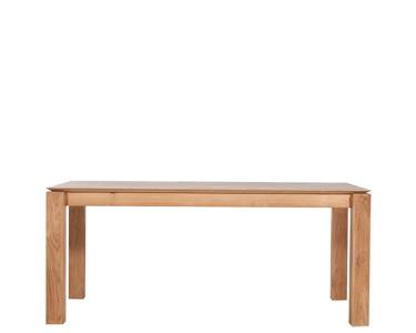 Ethnicraft© - Products » Tables & Benches »Teak Slice extendable dining table
