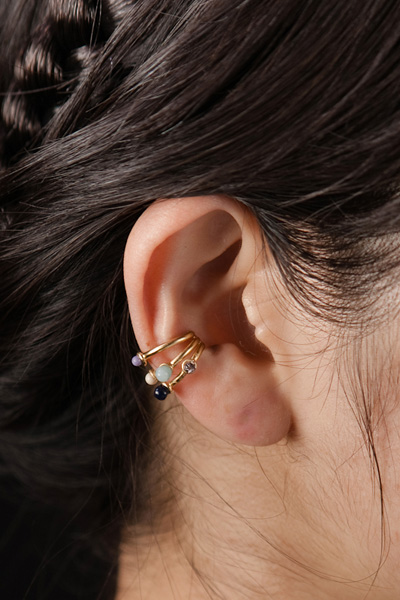 PETIT DROPS EAR CUFF(片耳) - mother online shop