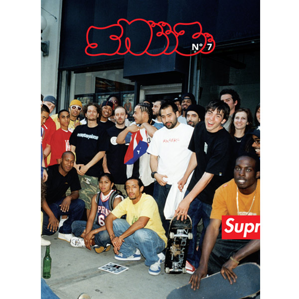 Sneeze Magazine N°7 / SUPREME ISSUE - HUF DQM BENNY GOLD TANTUM RAW UXA Select Shop Delicious