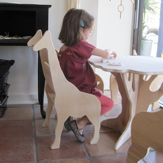Giraffe Chair from The Child's Menagerie Furniture by palomasnest