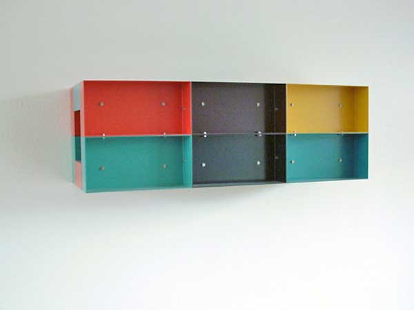 Donald Judd (1928-1994) - collection of the sculptor - sculptures - constructions