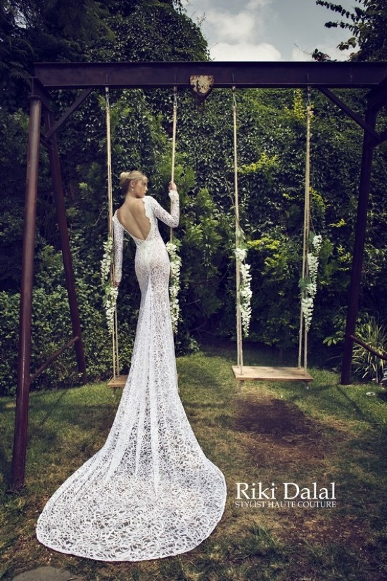 Luxury And Fantastic Wedding Dresses From Riki Dalal | ALL FOR FASHION DESIGN