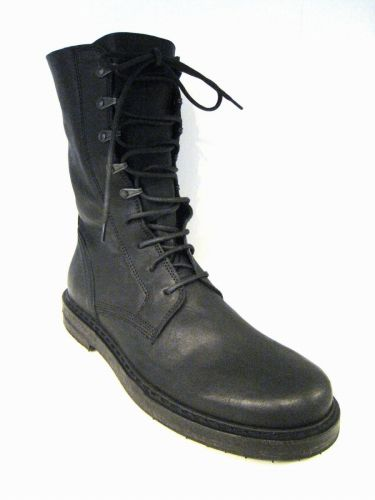 ANN DEMEULEMEESTER:レースアップブーツ(BLACK) [Why are you here?] アン・ドゥムルメステール ロング ann12s-16
