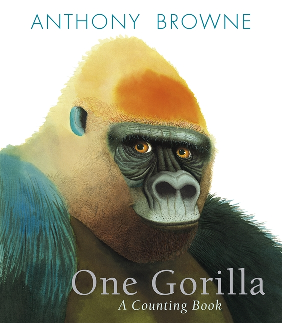 books4yourkids.com: One Gorilla, A Counting Book by Anthony Browne