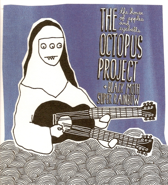 Images for Octopus Project, The & Black Moth Super Rainbow - The House Of Apples And Eyeballs