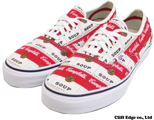 Supreme x Vans Authentic 'Campbell's Soup' Spotted vans-supreme-campbells-soup-5 – Highsnobiety.com