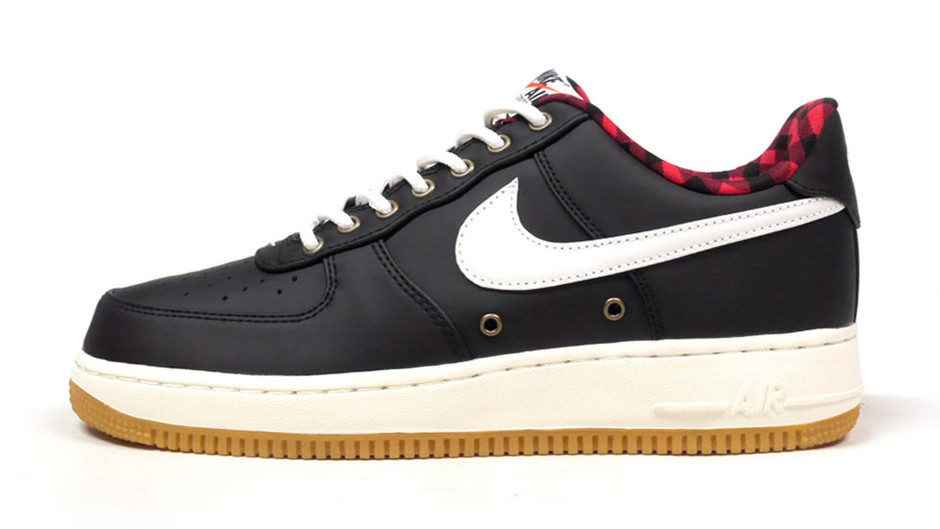"AIR FORCE I 07 LV8 ""LIMITED EDITION for ICONS"" BLK/NAT/RED/GUM ナイキ NIKE 