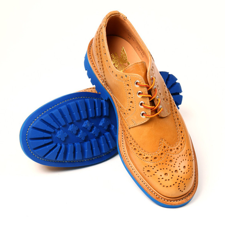 Mark McNairy -- UNION & Mark McNairy Saddle Waxed Country Brogue (V3) -- buy online -- Union Los Angeles