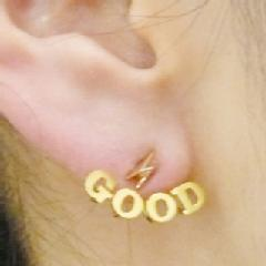 "■ete×一ツ山佳子 Collaborated Jewelry■ - Wrap colleltion - ""GOOD"" ■ete×一ツ山佳子 Collaborated Jewelry■ ete"