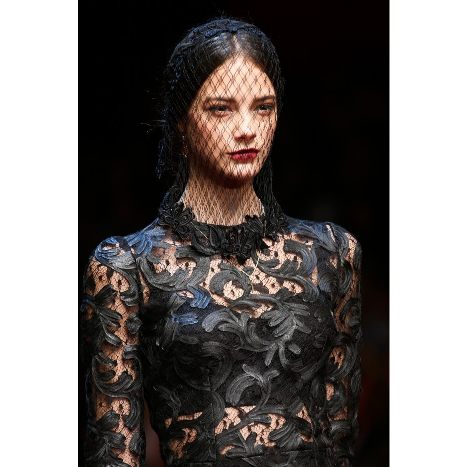 mytheresa.com - Lace veil - Hair accessories - Accessories - Dolce & Gabbana - Luxury Fashion for Women / Designer clothing, shoes, bags