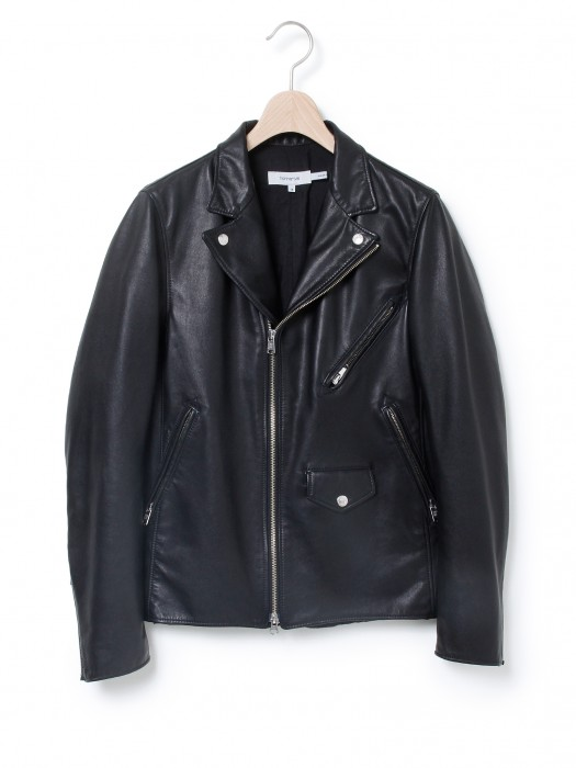 nonnative » RIDER SHORT JACKET – LIGHT WEIGHT COW LEATHER