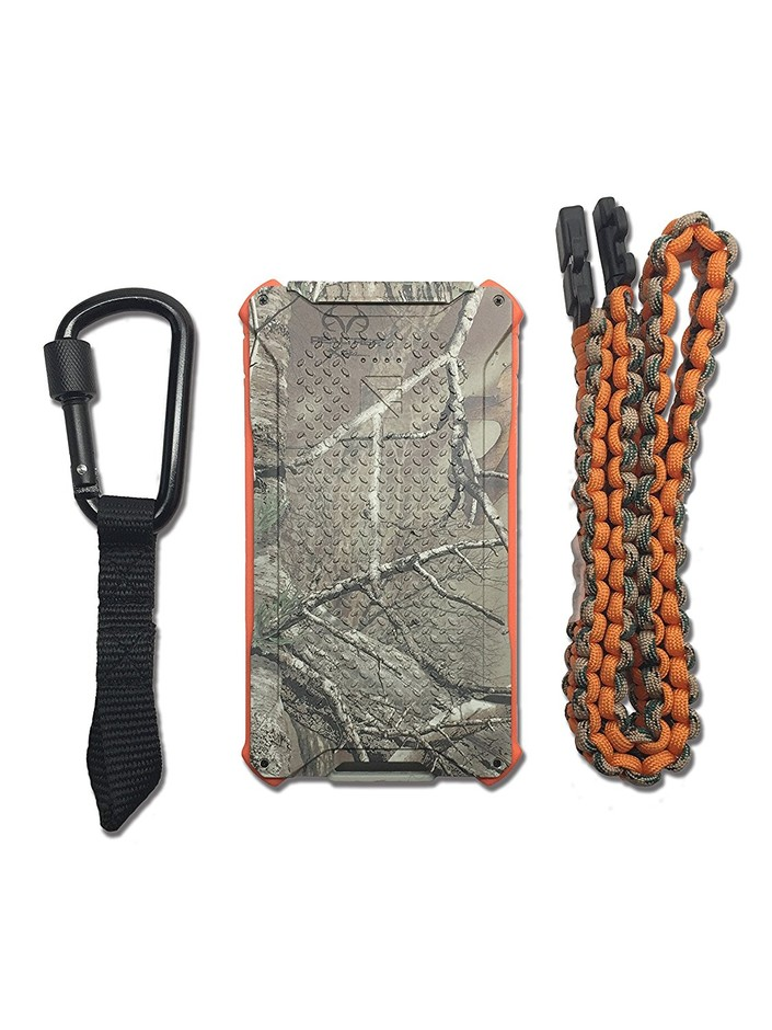 Amazon.com: Dark Energy Poseidon IP68 Waterproof, Shockproof, Dustproof, 10,000mah, 2 USB Port, 3.4 Amp Portable Charger and Light PLUS Paracord Charging Cable, Dark Edition-Black: Cell Phones & Accessories