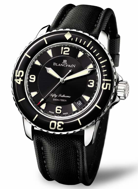 Blancpain 5015 Fifty Fathoms | Incipe Industries Blog