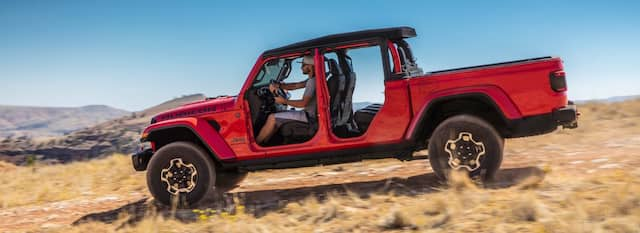 All-New 2020 Jeep® Gladiator - Midsize Pickup Truck