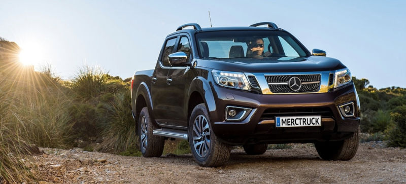 Mercedes 'X-Class' Pickup Truck Will Come In Work And Luxury Trims: Report