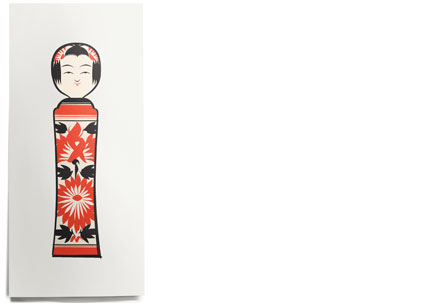 House Industries - Objects - Kokeshi 2