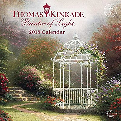 Thomas Kinkade Painter of Light 2018 Mini Wall Calendar