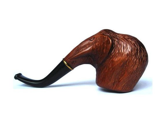 Smoking Pipe MAMMOTH Wooden Handcarved Tobacco by forpipesmokers
