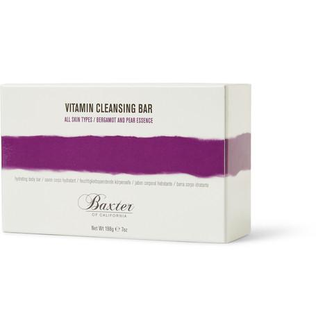 Baxter of California - Vitamin Cleansing Bar - Bergamot, Pear