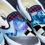 """Classic Slip-On """"PATCHWORK""""(US4H(22.5CM) (PATCHWORK)ASSORTED/TRUE WHITE): Brands