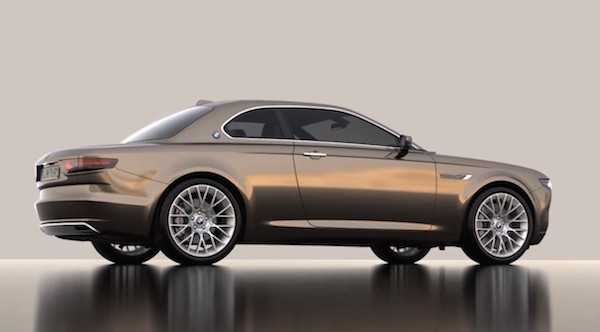 The Iconic BMW E9, Reimagined With Updated Touches By A Designer - DesignTAXI.com