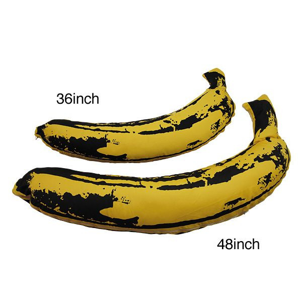 : MEDICOM TOY - Andy Warhol BANANA PLUSH