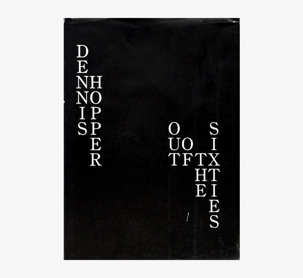 Dennis Hopper デニス・ホッパー 写真集   Out of the Sixties   nostos books 古書ノストス