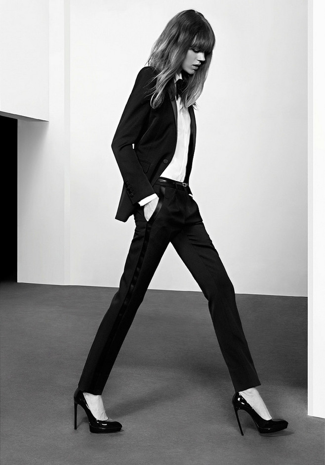 Saint Laurent Pre-Fall 2013 Campaign | The L+A Diary