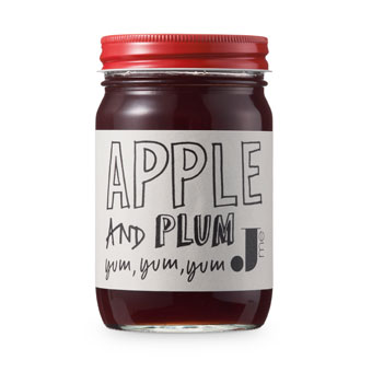 Apple & Plum Jam - NEW - Jme Food - Preserves & honey UK
