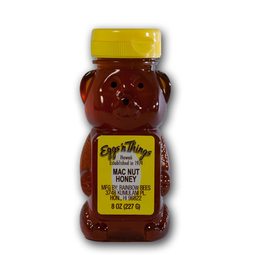 Honey Macadamia Nut 8oz : EGGS 'N THINGS, pancakes, omelets, crepes, hawaii