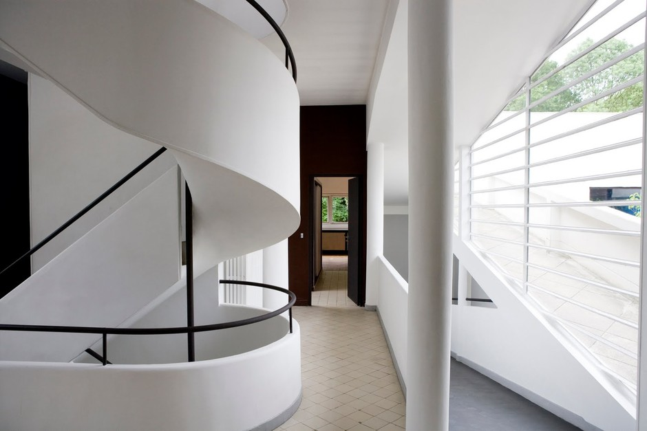 Jill Paider Photography: Le Corbusier's Villa Savoye - Poissy, France