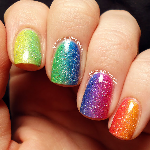 SparrowNails: Random Nail Art
