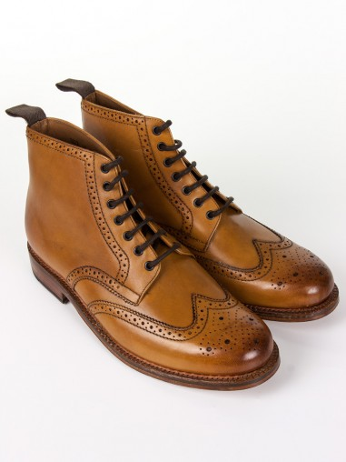 Grenson Boots Sharp Tan Leather | Grenson Shoes