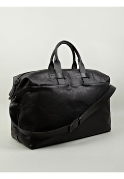 Men's Luxury Leather Weekend Bag | Weekender | Troubadour