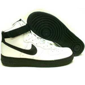 Nike Air Force 1 High (white / black / black) shoes 306681-101 | PickYourShoes.com
