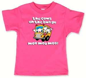 COWS on the Bus Kids-T - Kids - T-Shirts :: cows.ca