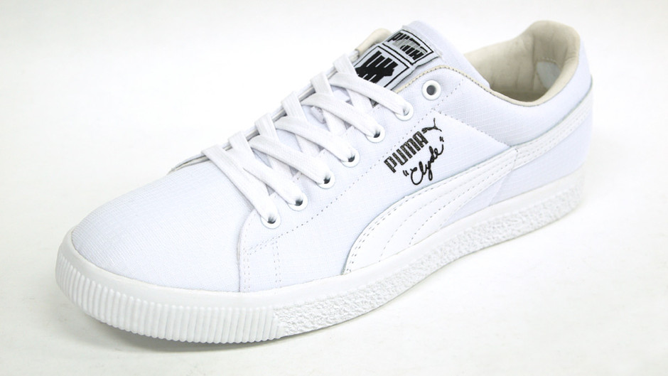CLYDE X UNDEFEATED RIPSTOP 「UNDEFEATED別注」 WHT/WHT プーマ Puma | ミタスニーカーズ|ナイキ・ニューバランス スニーカー 通販