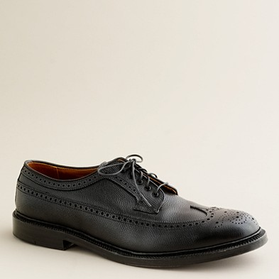 Men's shoes - oxfords - Limited-edition Alden® for J.Crew black alpine longwing bluchers - J.Crew
