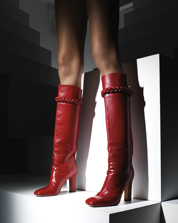 Valentino To Be Cool Patent Leather Boots – NAWO