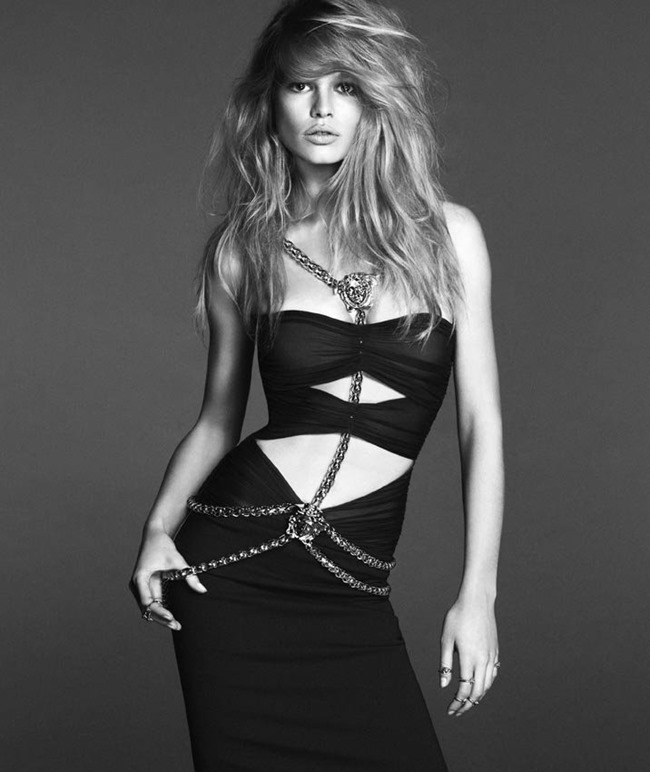 CAMPAIGN: Anna Ewers for Versace Spring 2014 by Photographers Mert & Marcus - Image Amplified: The Flash and Glam of All Things Pop Culture. From the Runway to the Red Carpet, High Fashion to Music, Movie Stars to Supermodels.